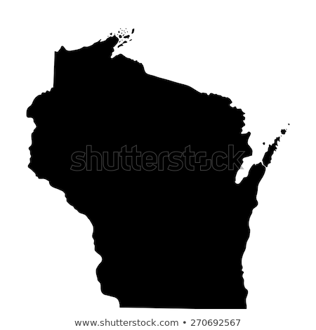 Stok fotoğraf: Flag of the state of Wisconsin