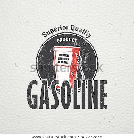 Sleutel dienst station logo-ontwerp business Stockfoto © djdarkflower