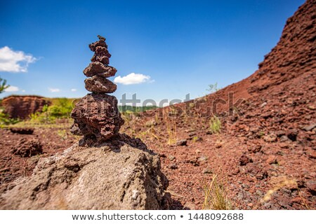 Extinto sentimento como natureza montanha vermelho Foto stock © grafvision