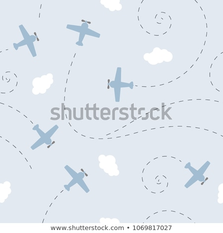 Aviation seamless pattern Stock photo © netkov1