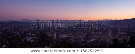 view of Zurich in evening, Switzerland Stock photo © borisb17