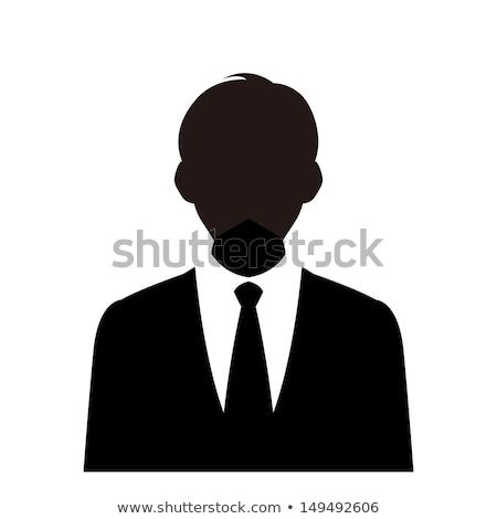 ретро люди вектора Cartoon изолированный прибыль на акцию Сток-фото © NikoDzhi