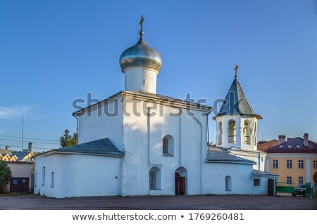 Church of the Protection of the Theotokos, Russia Stock photo © borisb17