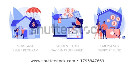 Coronavirus stimulus package plan abstract concept vector illustrations. Stock photo © RAStudio