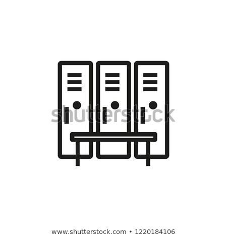 lockers in changing room stock photo © supercrimson