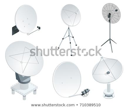 Satellite dish antennas Stock photo © stoonn