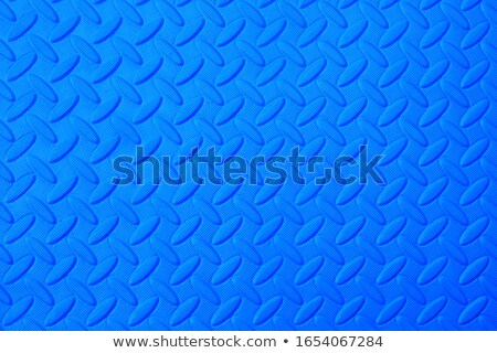 Stock photo: Black rubber mat