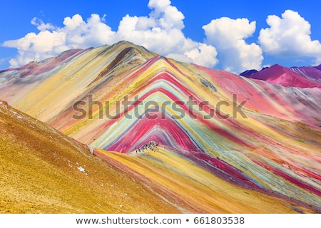 Mountains colorful landscape Stock photo © photocreo