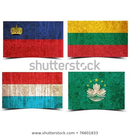 Гранж флаг старые Vintage гранж текстур текстуры Сток-фото © HypnoCreative