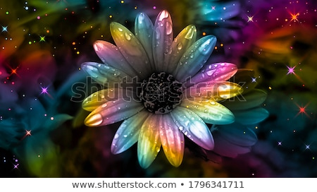 Surreal Abstract Rainbow Fractal Background Stock photo © ArenaCreative