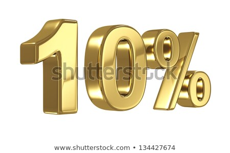 Stock photo: Twenty-five percent discount shiny digits