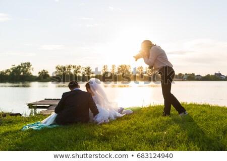 фотографий солнце красивой Сток-фото © pablocalvog