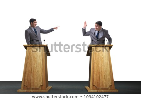 Businessmen having heated debate Stock photo © photography33