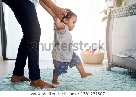 Bebek erkek öğrenme mutlu oynama eğitim Stok fotoğraf © Dizski