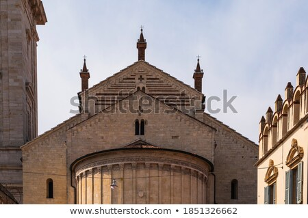 Detailed view of old brick bridge in Verona (Italy) Stock photo © frank11