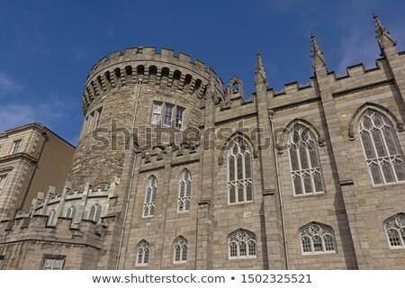 kasteel · namiddag · bakstenen · middeleeuwse - stockfoto © blanaru