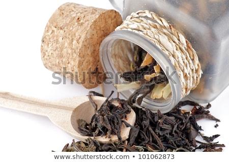 herbaty · biały · pozostawia · chińczyk · srebrny - zdjęcia stock © zhekos