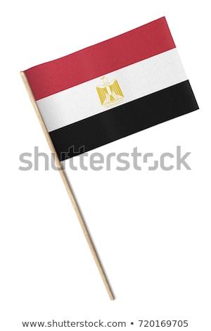 Miniature Flag of Egypt (Isolated) Stock photo © bosphorus