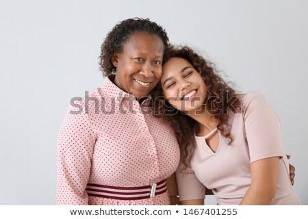 femme · mère · femmes · cheveux · verres · peintre - photo stock © photography33
