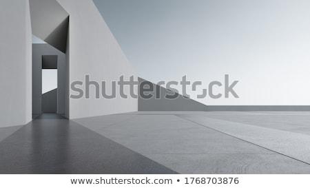 Architektur Haus Gebäude Bau Design home Stock foto © BrunoWeltmann