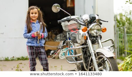 little boy and girl with power tools stock photo © photography33