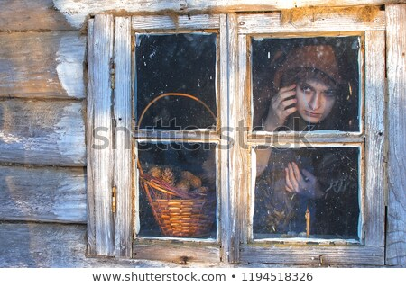 Woman looking intently at something Stock photo © photography33