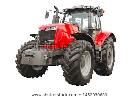 isolé · tracteur · blanche · machine · moteur - photo stock © Onyshchenko