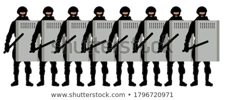 Armed militia Stock photo © RTimages