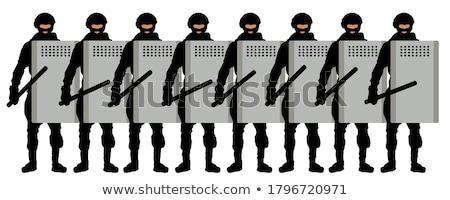 armado · ladrão · pistola · mulher · feminino · crime - foto stock © rtimages