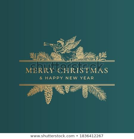 angel christmas stock photo © urchenkojulia
