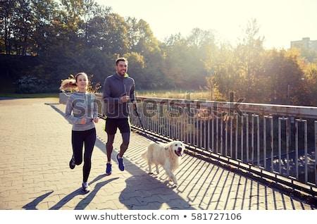 Foto stock: Active People