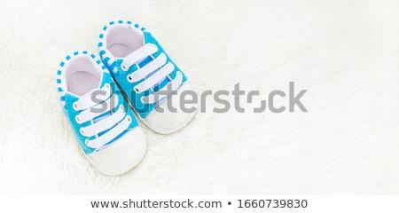 weinig · voet · baby · meisje · liefde · jongen - stockfoto © pzaxe