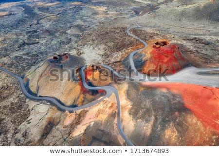 Volcanic park Timanfaya Stock photo © Harlekino