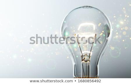 Stock fotó: Illuminated Bulb