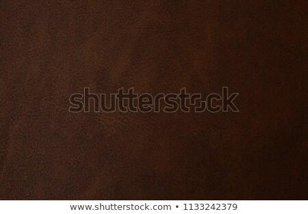 Luz marrom couro abstrato fundo Foto stock © enterlinedesign