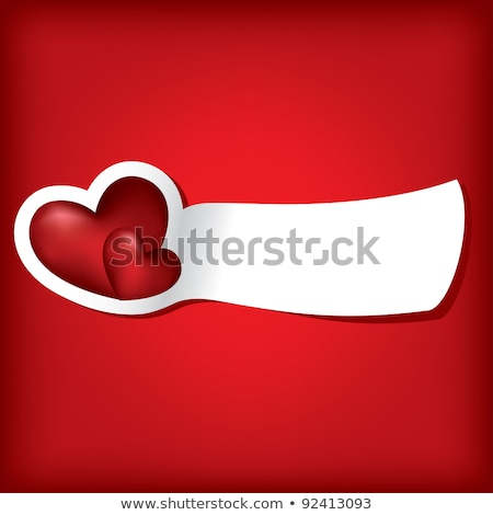 two love banners vector illustration stock photo © carodi
