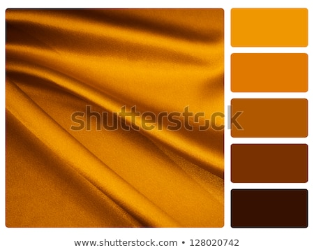 gold satin colour palette swatch Stock photo © REDPIXEL