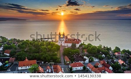 Tihany abbey (Hungary) Stock photo © digoarpi