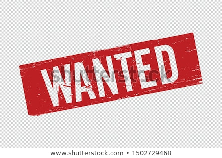 Wanted notice for cowboy Stock photo © antonbrand