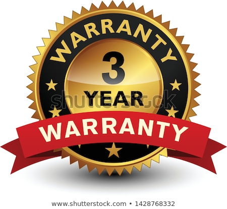 Stock photo: 3 Year Warranty Stamps