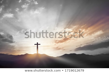 Jesus christ gravé vintage illustration image Photo stock © Snapshot