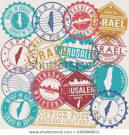 Stamped Israeli Passport stock photo © eldadcarin