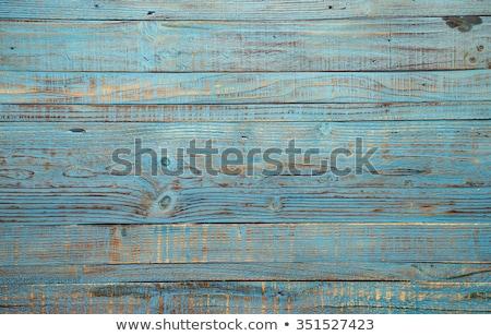 Oud hout hek oude houten graan samen Stockfoto © pixelsnap