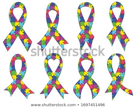 Puzzle Pieces Ribbon Stock photo © cteconsulting
