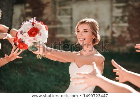 Сток-фото: �укет · невесты