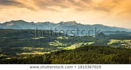 dağ · panorama · Nevada · dumanlı · gün · manzara - stok fotoğraf © hraska