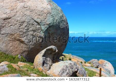 Vencedor porto sul da austrália ver granito ilha Foto stock © THP