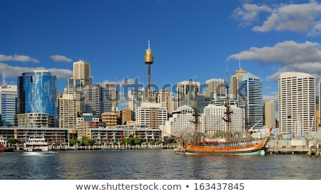 darling harbour australia stock photo © iofoto