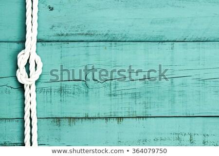 statku · liny · wyblakły · drewna · tekstury · przestrzeni - zdjęcia stock © stevanovicigor