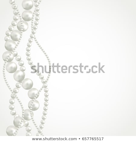 3D parels abstract zee achtergrond Stockfoto © 123dartist